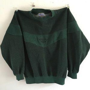 Other - Vintage Bugle Boy unique color crew sweater